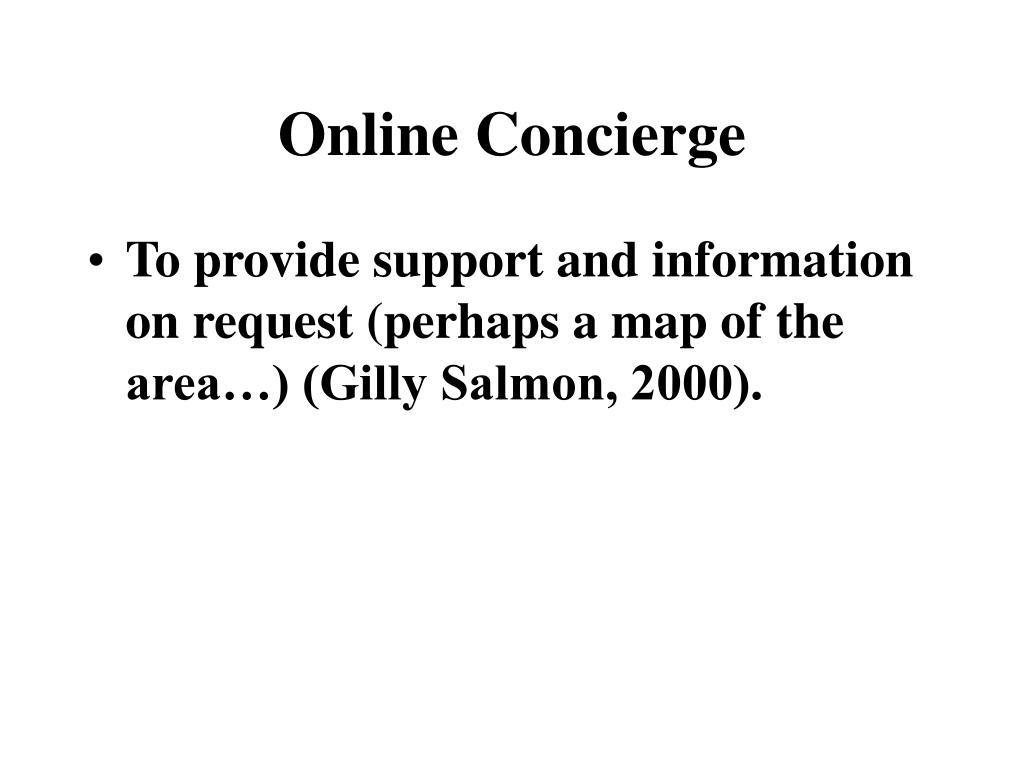 Online Concierge