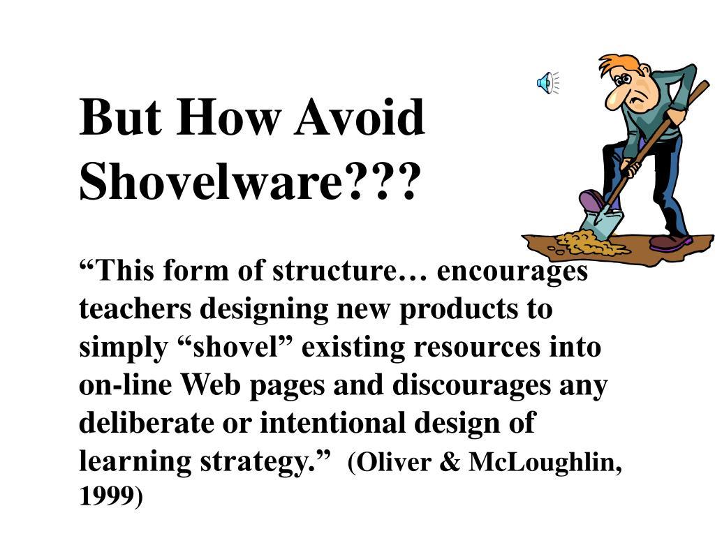 But How Avoid Shovelware???