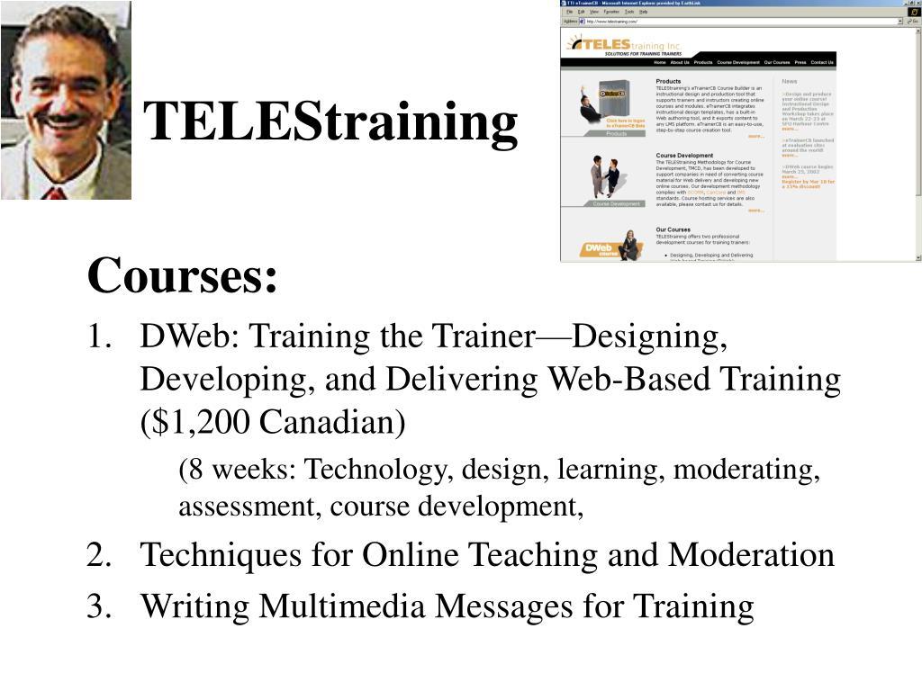 TELEStraining