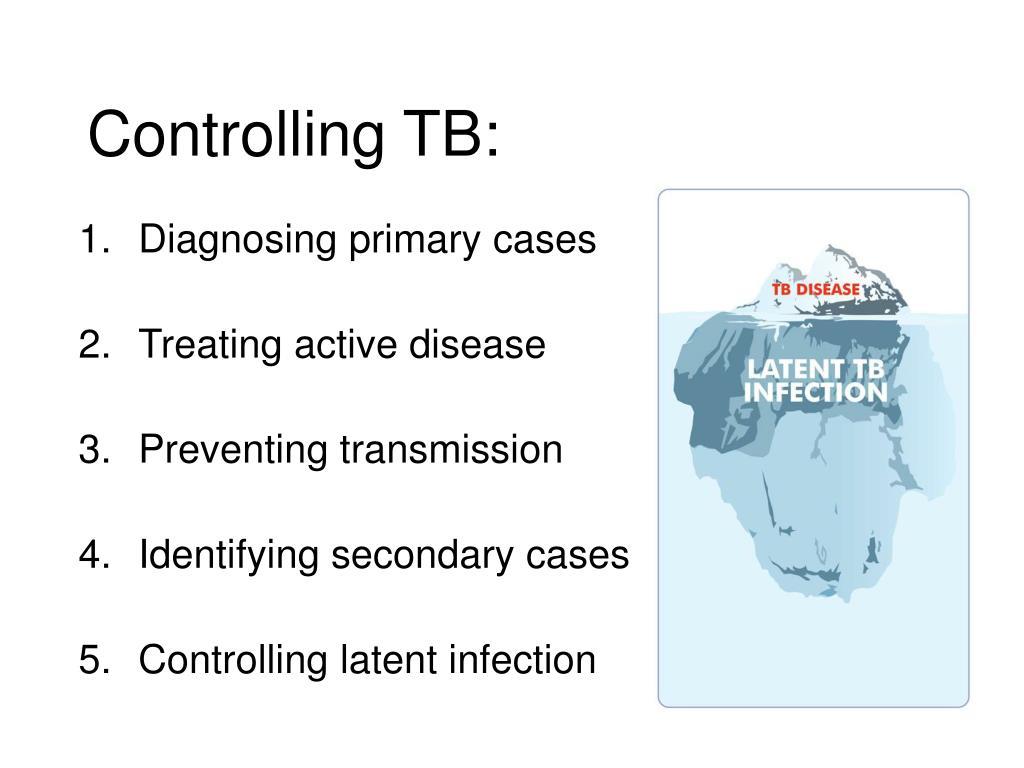 Controlling TB: