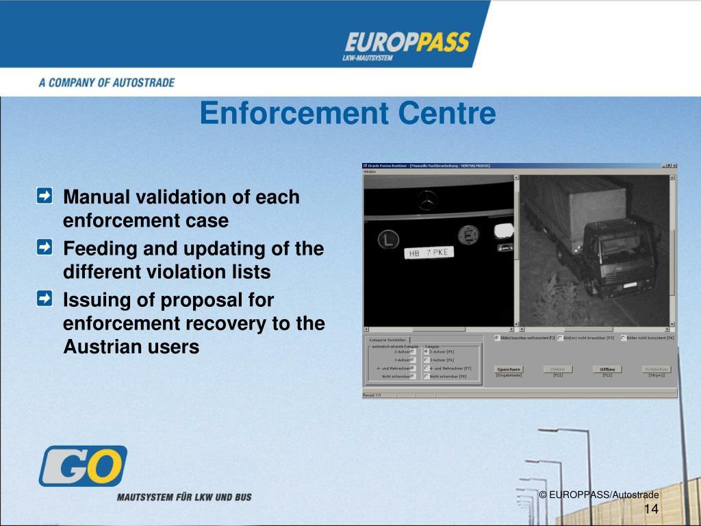 Enforcement Centre