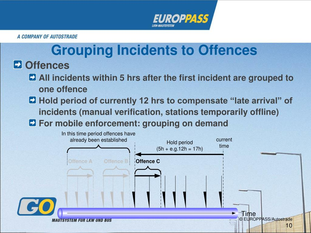 Grouping Incidents to
