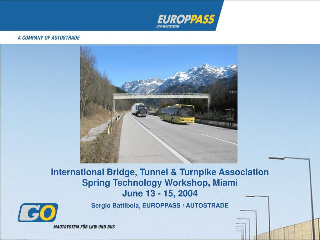 International Bridge, Tunnel & Turnpike Association