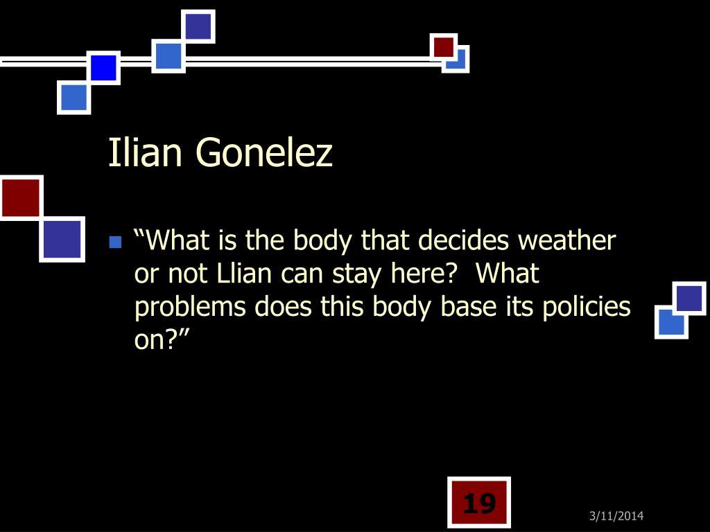 Ilian Gonelez