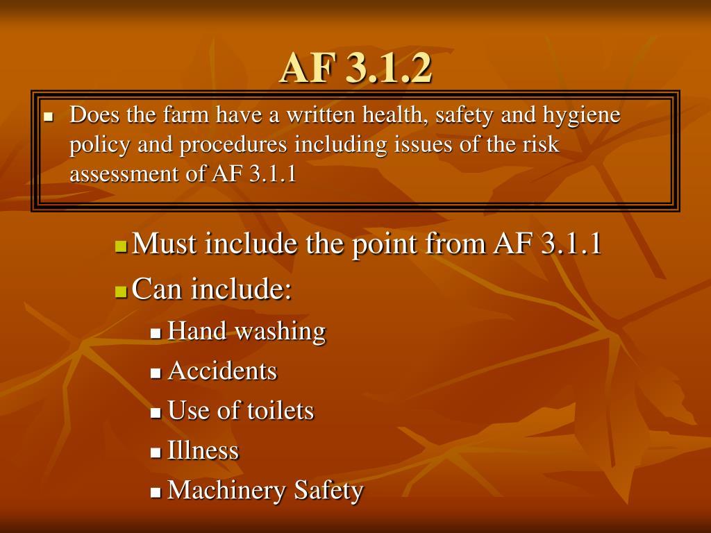 AF 3.1.2