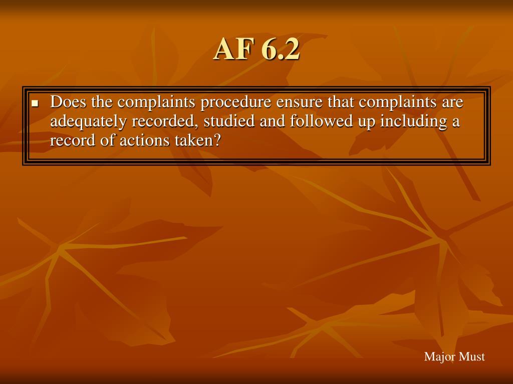 AF 6.2