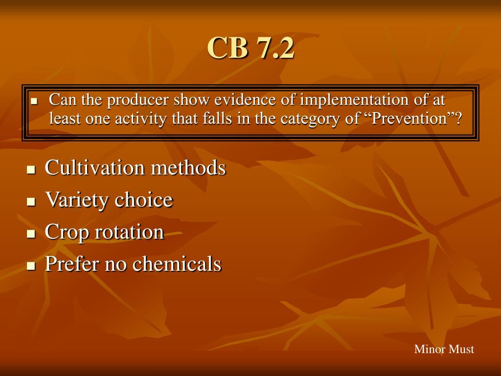 CB 7.2