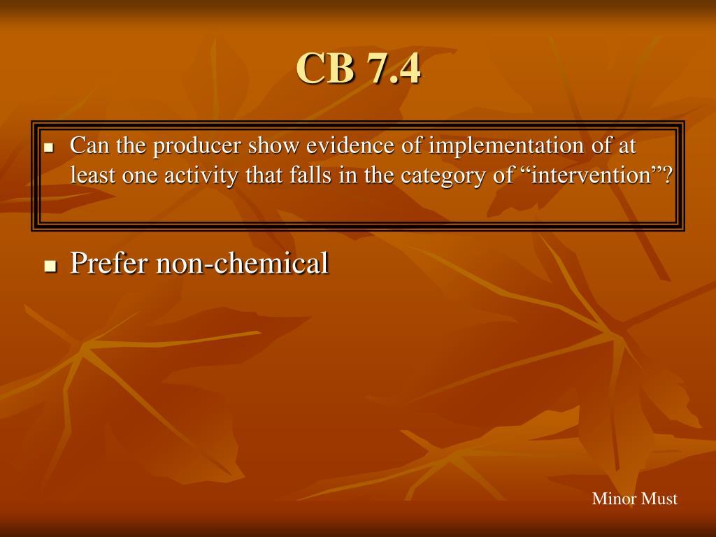 CB 7.4