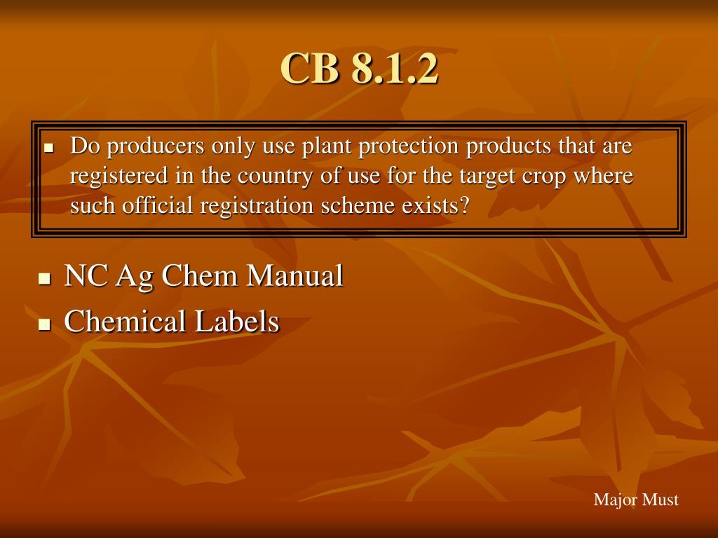 CB 8.1.2