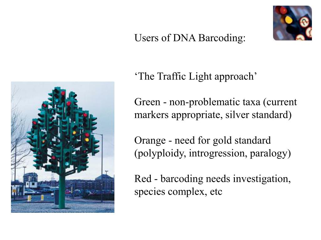 Users of DNA Barcoding: