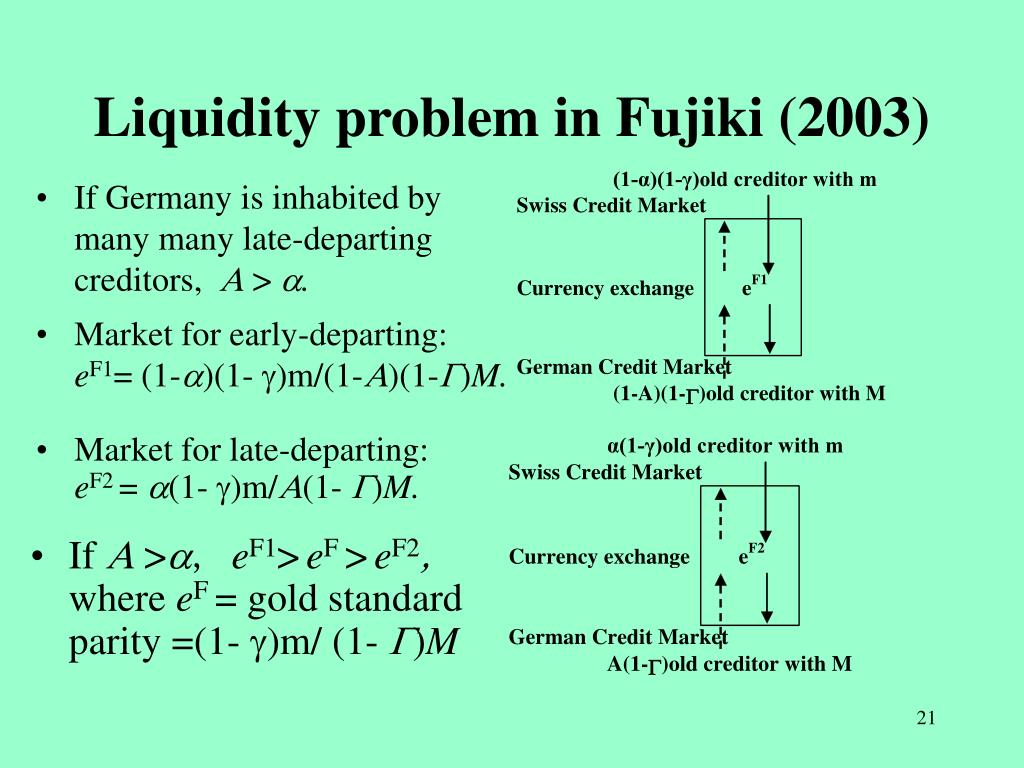 Liquidity problem in Fujiki (2003)
