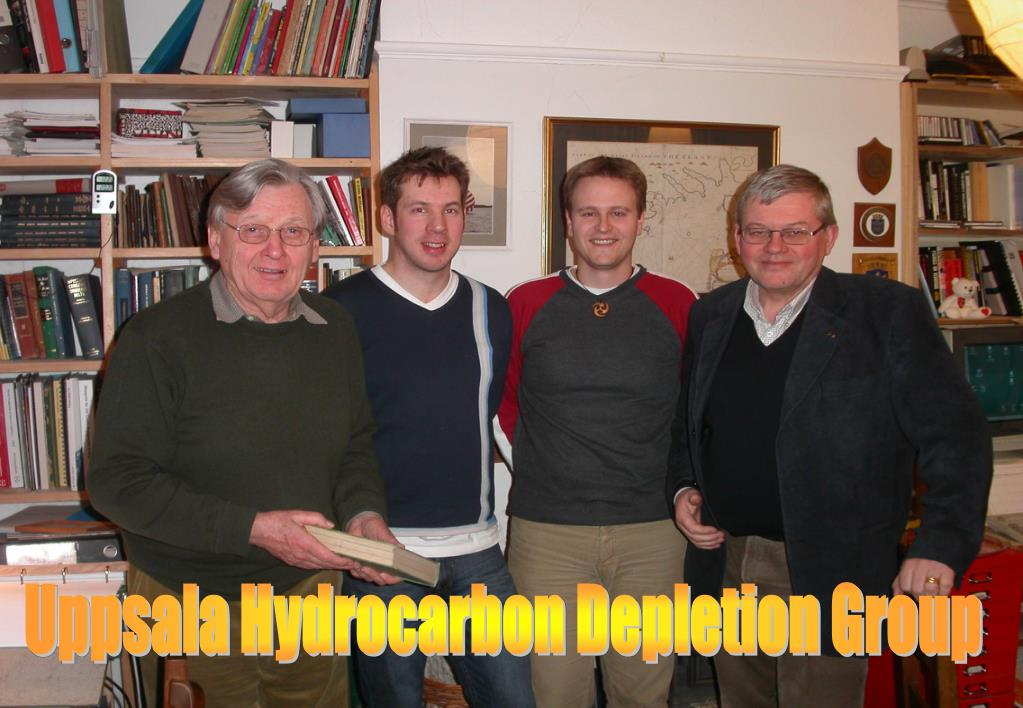 Uppsala Hydrocarbon Depletion Group