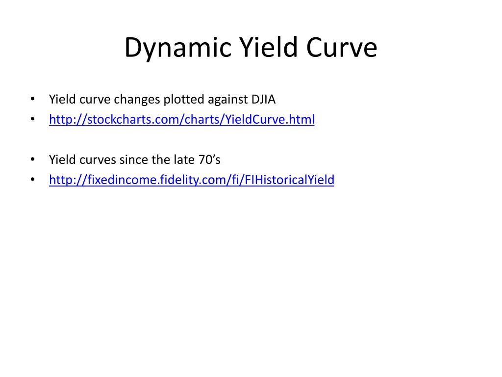 Dynamic Yield Curve