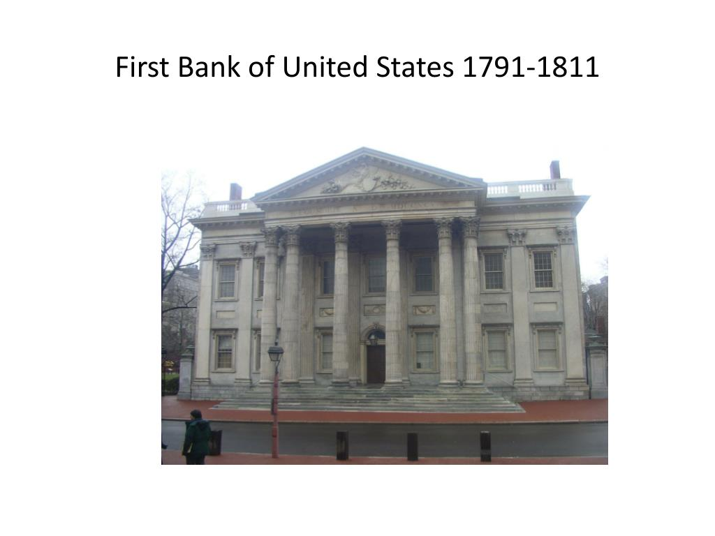 First Bank of United States 1791-1811