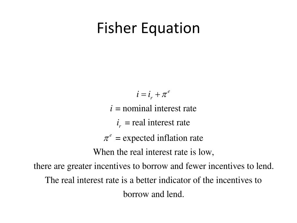 Fisher Equation