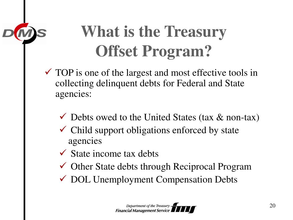 What is the Treasury Offset Program?