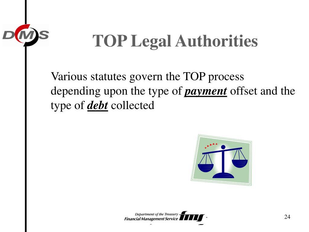 TOP Legal Authorities