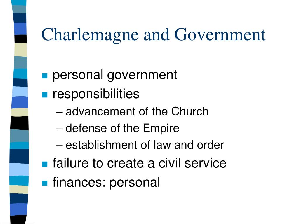 Charlemagne and Government