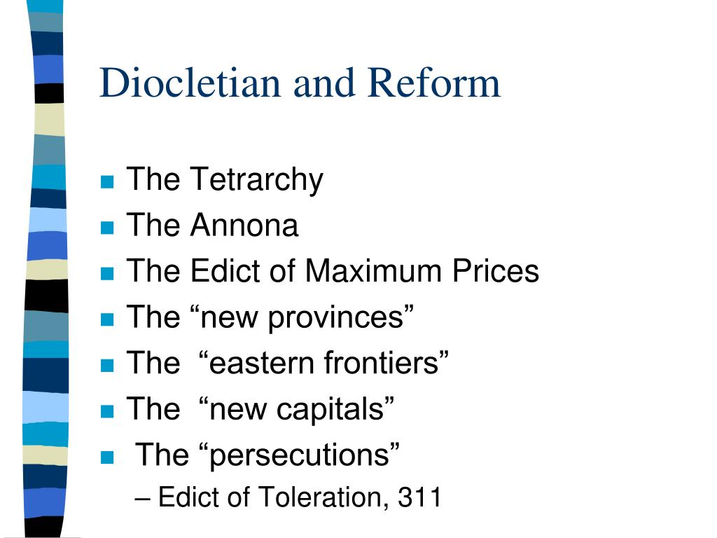 Diocletian and Reform
