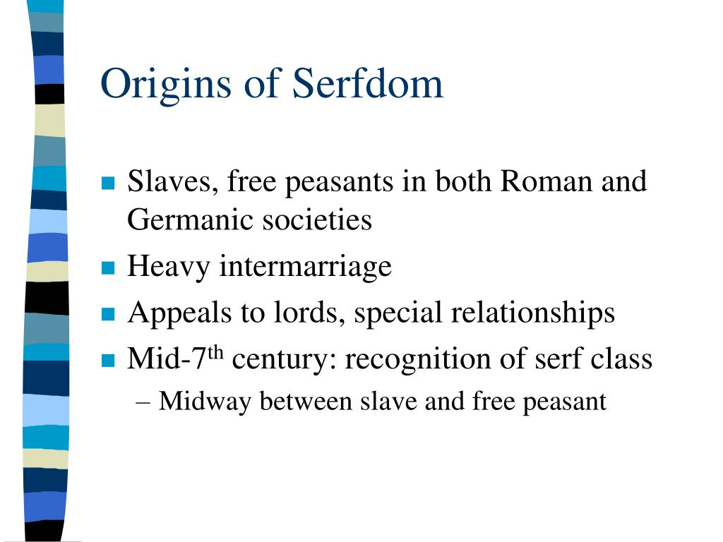 Origins of Serfdom