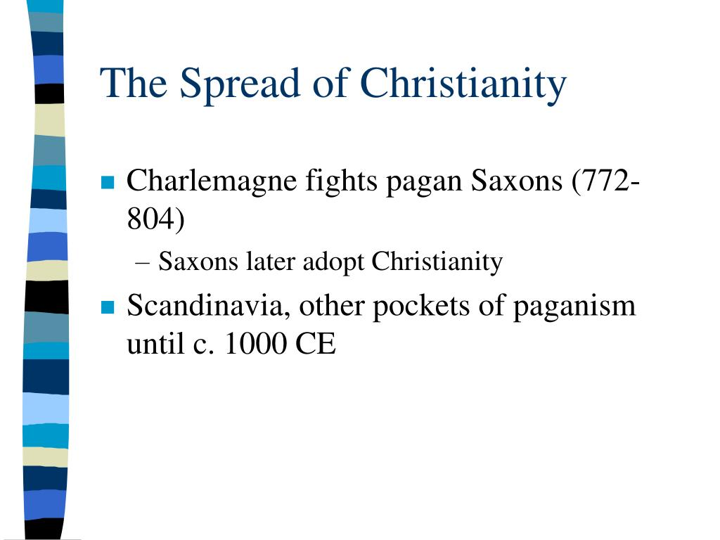 The Spread of Christianity
