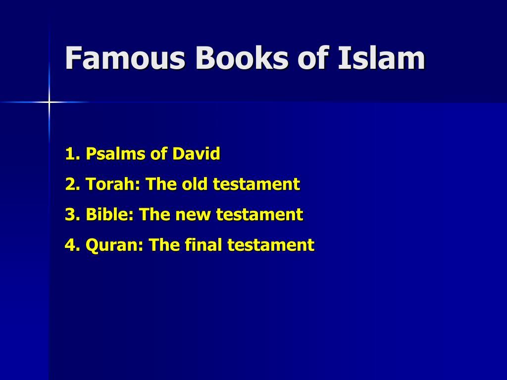 Famous Books of Islam