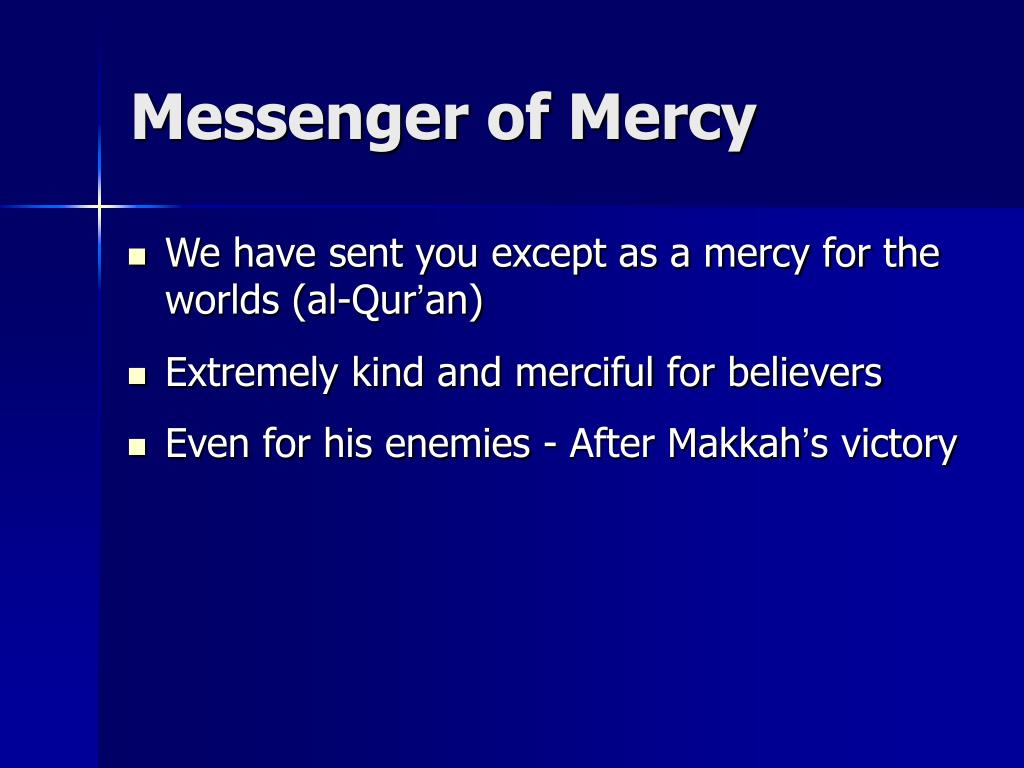 Messenger of Mercy