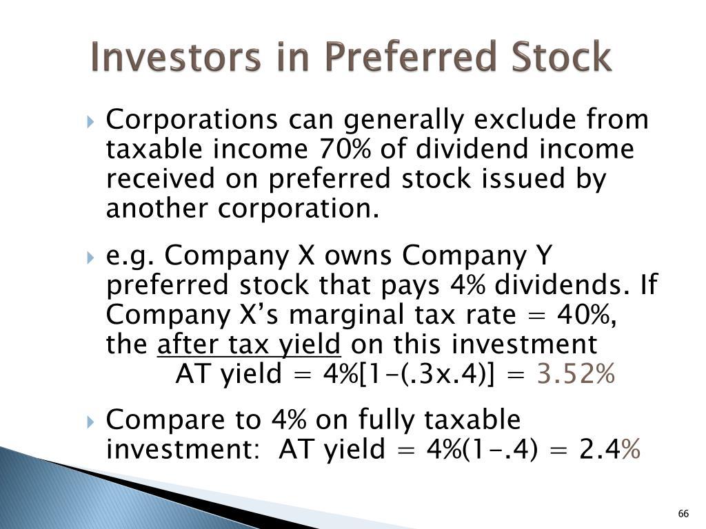 Investors in Preferred Stock