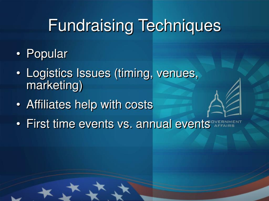 Fundraising Techniques