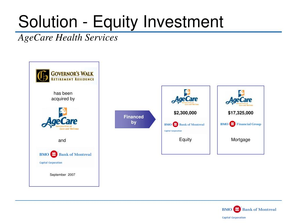 Solution - Equity Investment