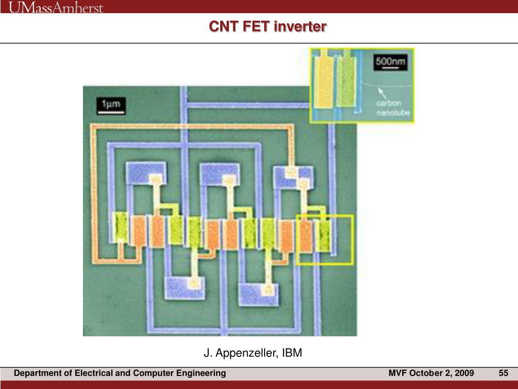 CNT FET inverter