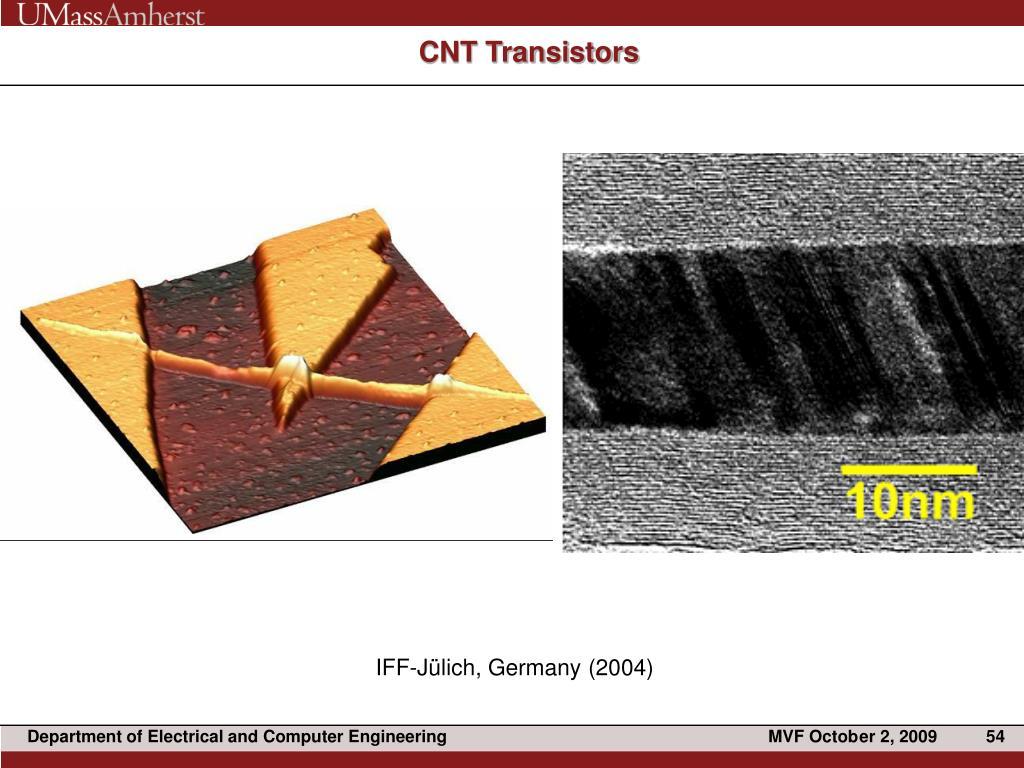 CNT Transistors