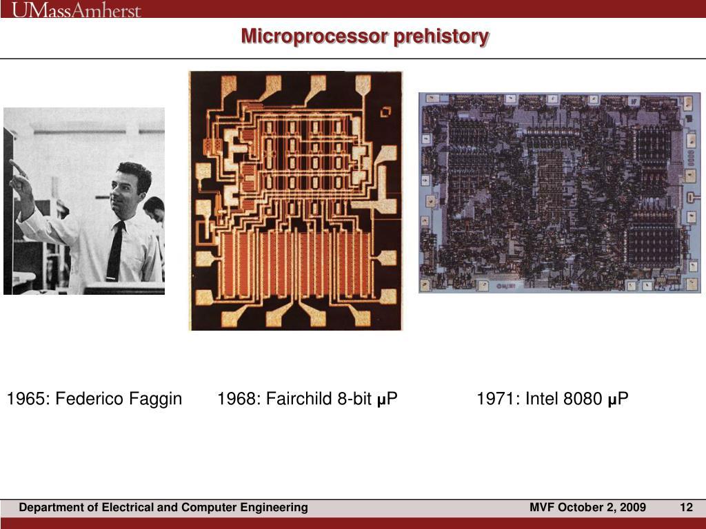 Microprocessor prehistory