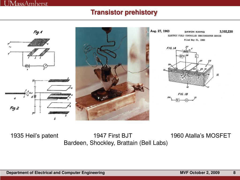 Transistor prehistory