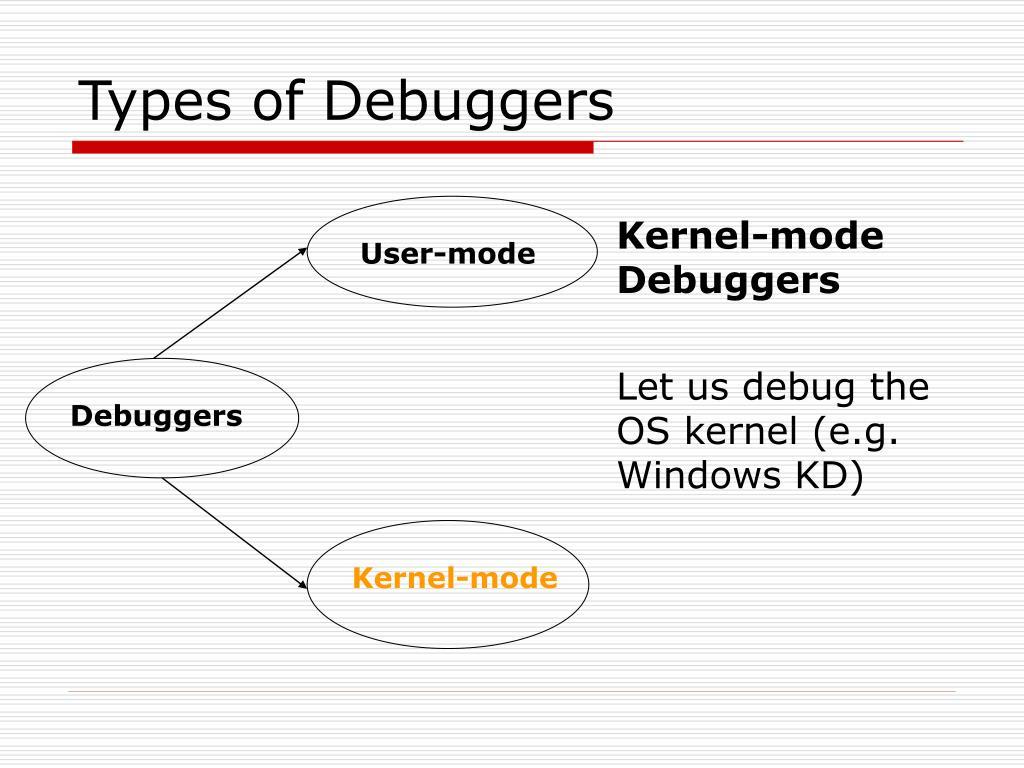 Kernel-mode Debuggers