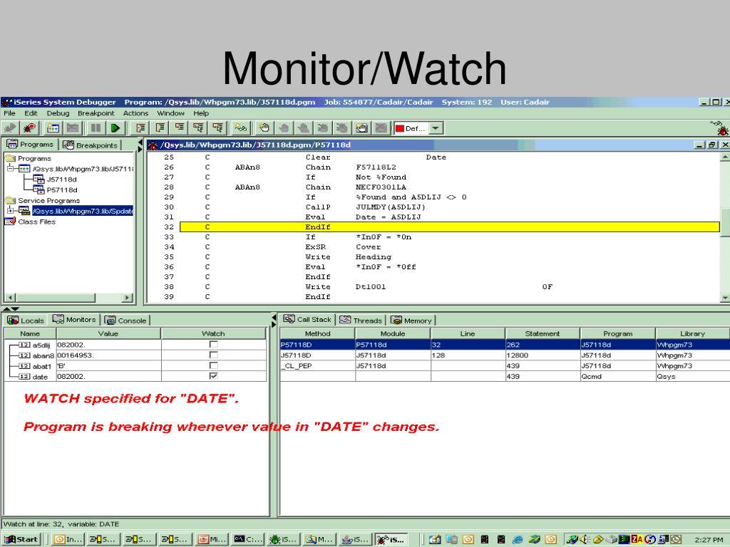 Monitor/Watch