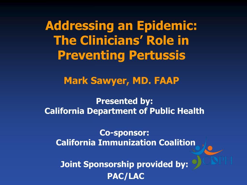 Addressing an Epidemic:
