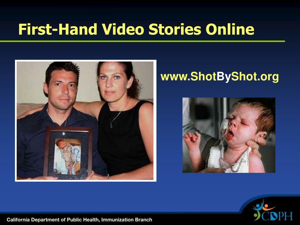 First-Hand Video Stories Online