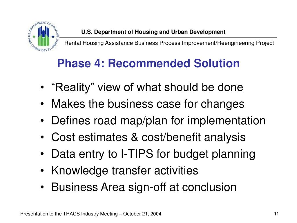 Phase 4: Recommended Solution