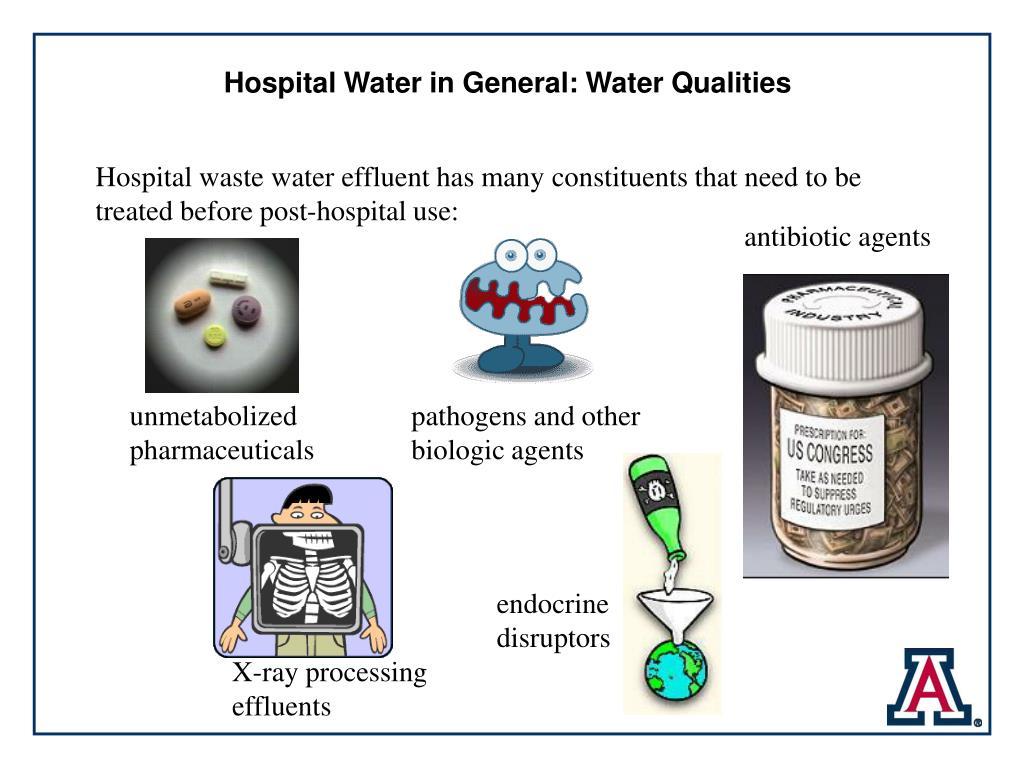 Hospital Water in General: Water Qualities