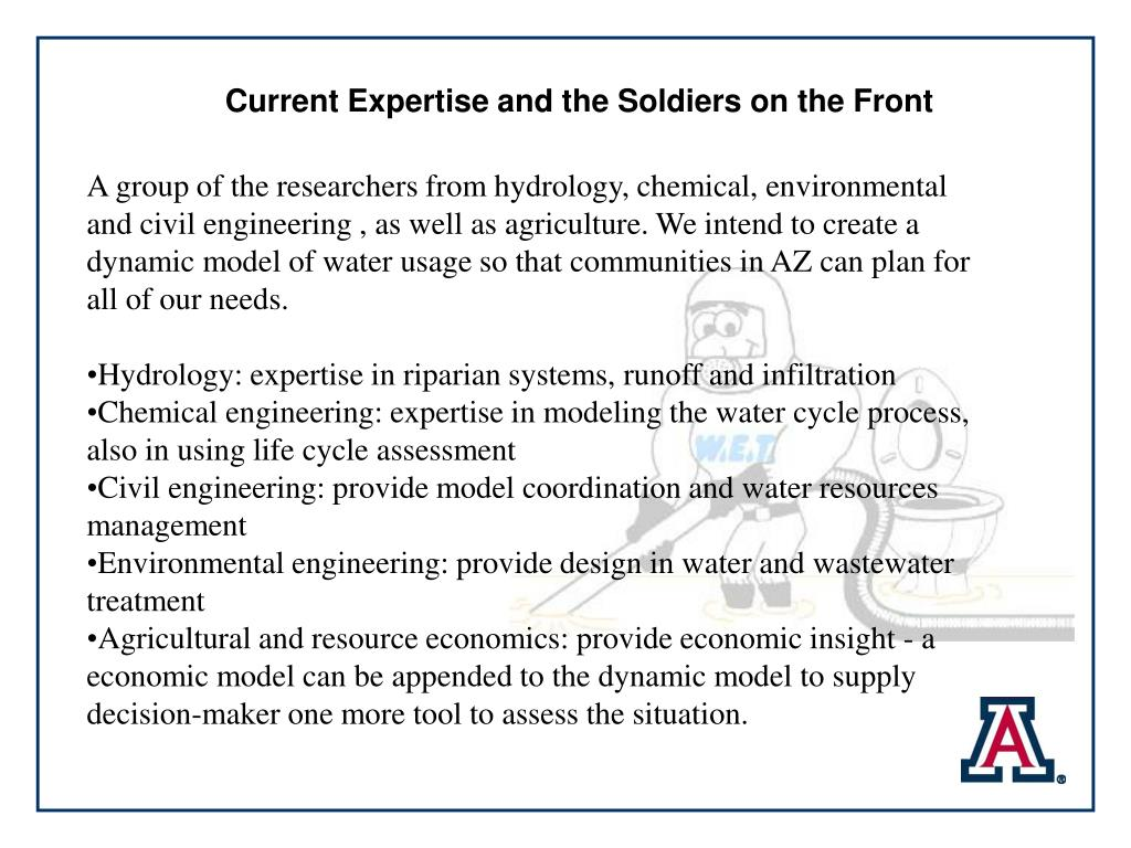 Current Expertise and the Soldiers on the Front