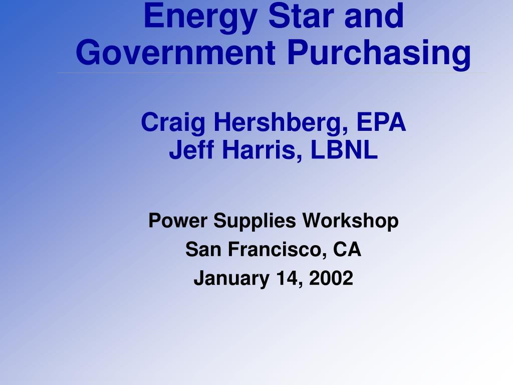 Energy Star and