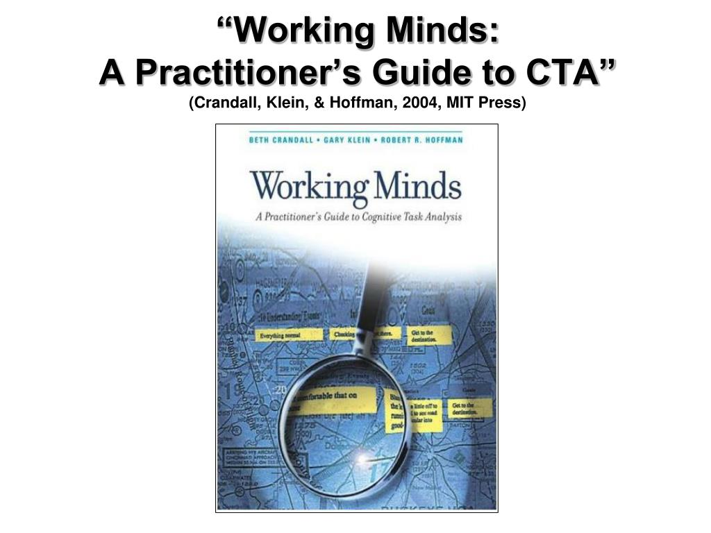"""""""Working Minds:"""