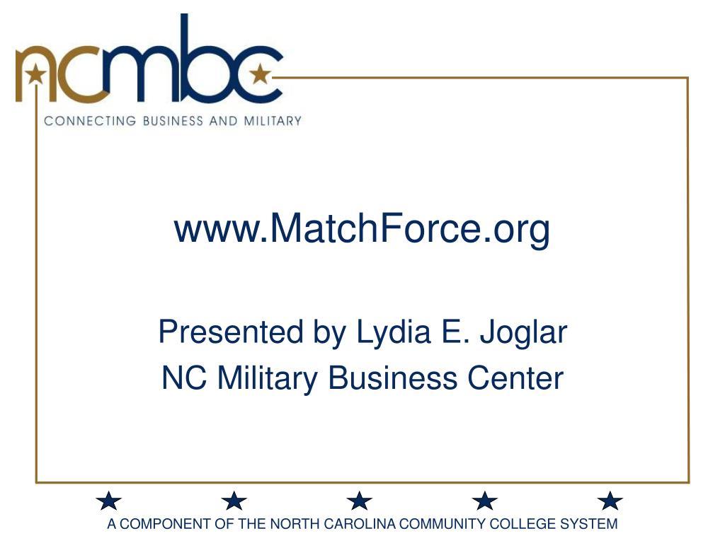 www.MatchForce.org