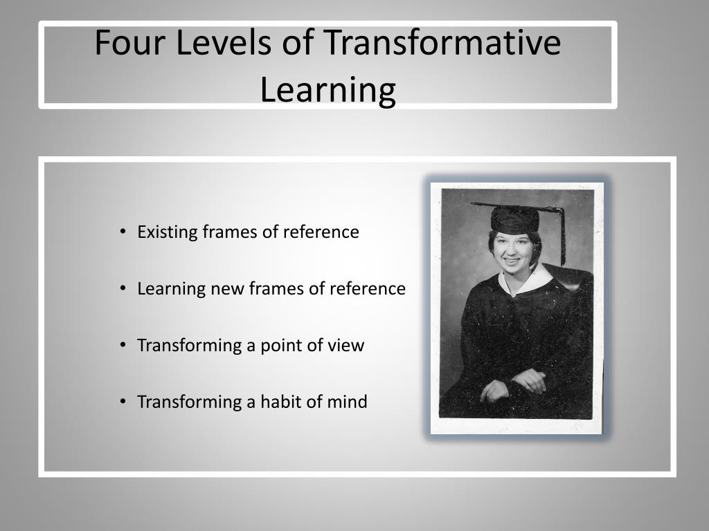 Four Levels of Transformative Learning