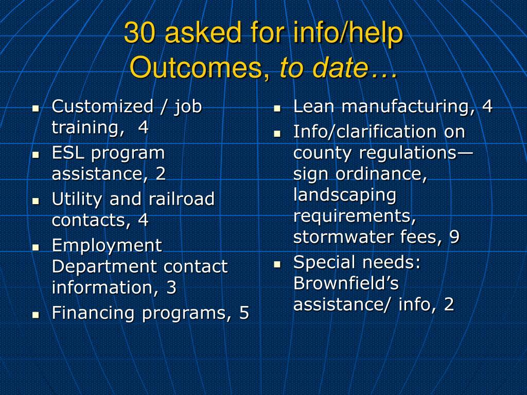 Customized / job  training,  4