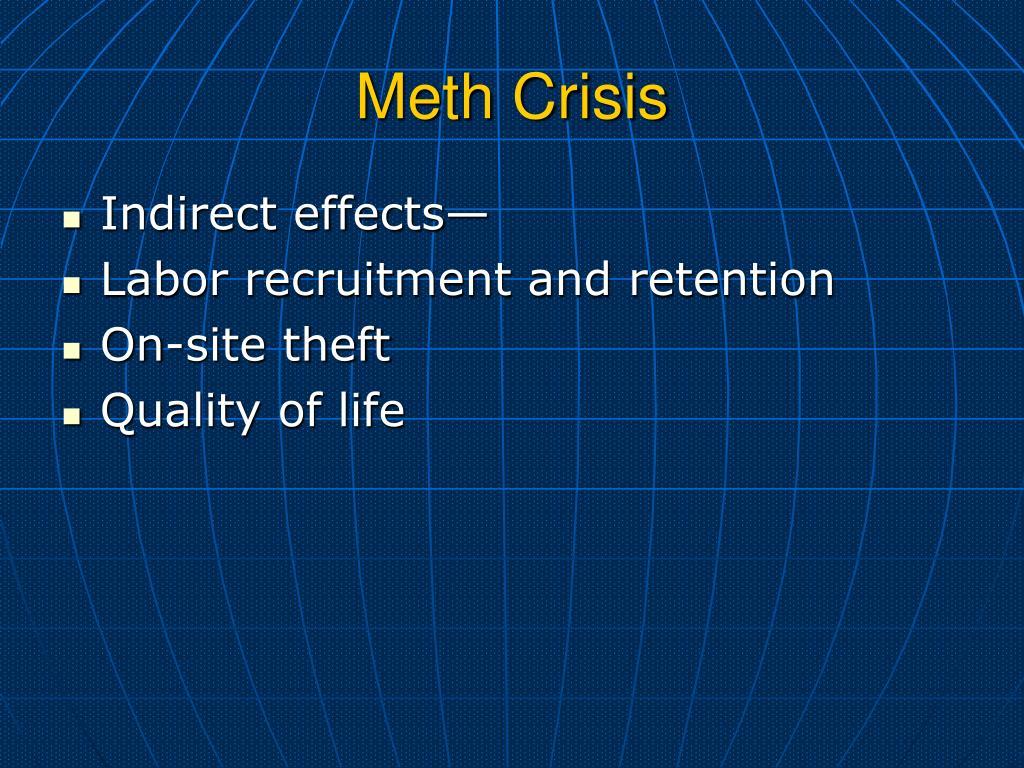 Meth Crisis
