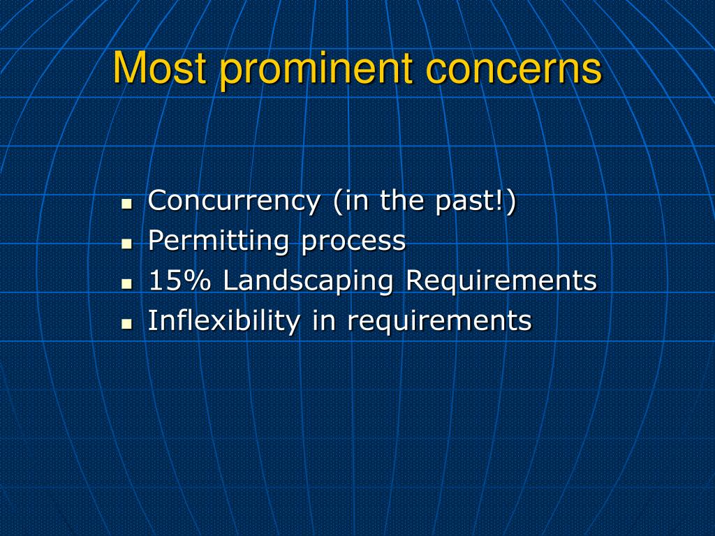Concurrency (in the past!)