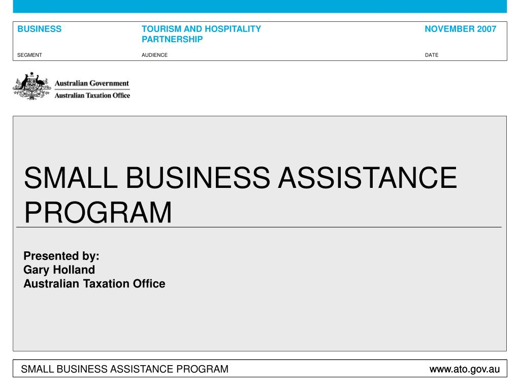 small business assistance program