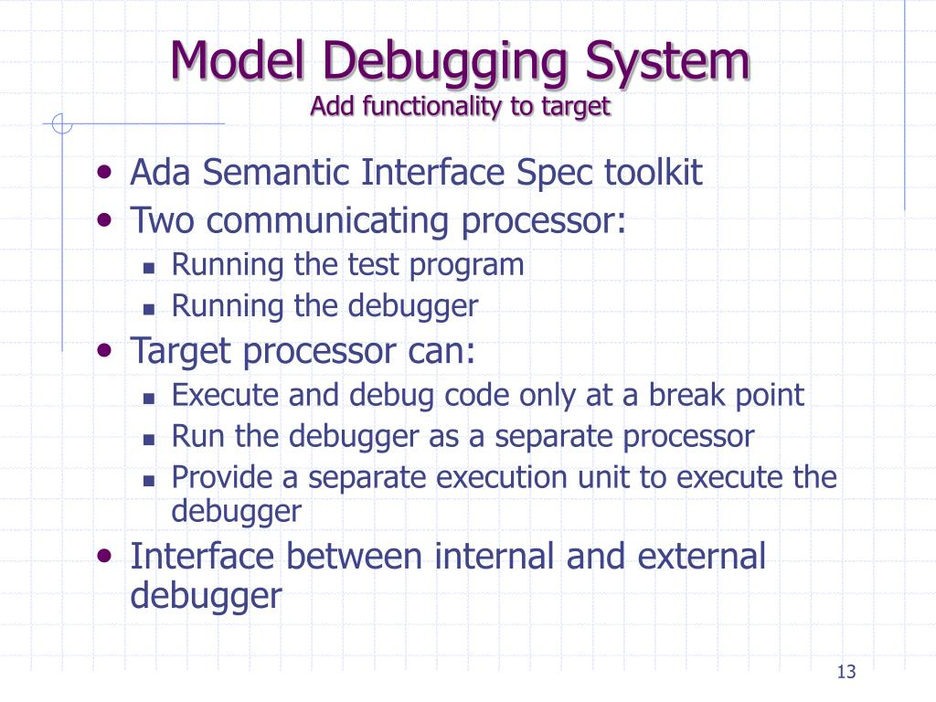 Model Debugging System